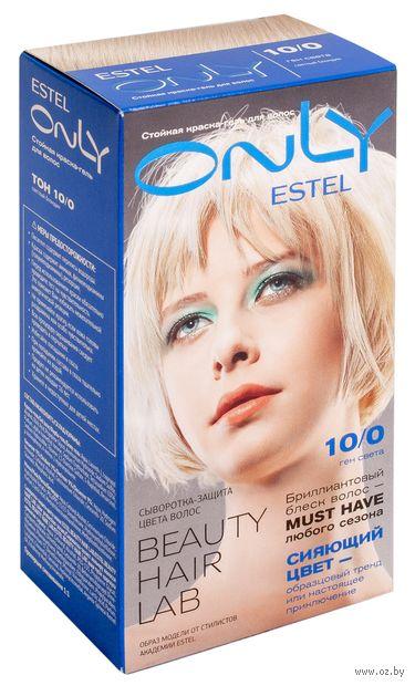 """Гель-краска для волос """"ESTEL ONLY"""" тон: 10/0, светлый блондин — фото, картинка"""