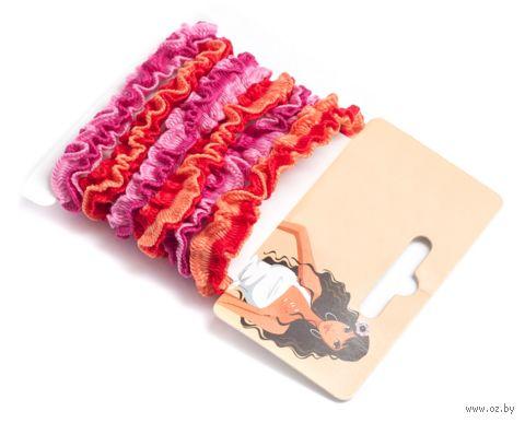 Набор резинок для волос разноцветных (6 шт.; арт. 5221-1024) — фото, картинка