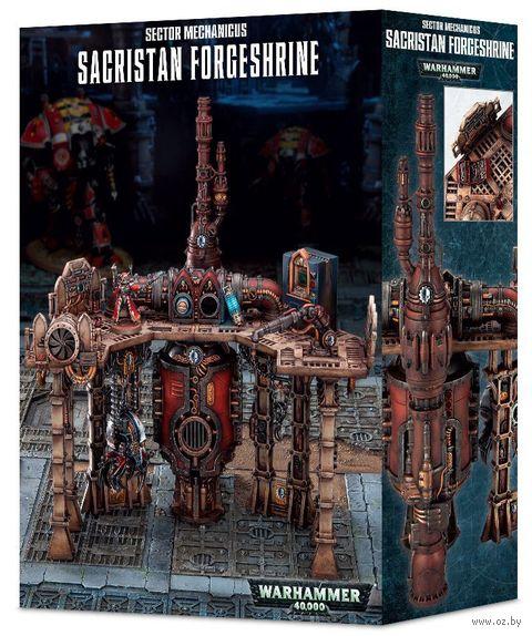 Warhammer 40.000. Sector Mechanicus. Sacristan Forgeshrine (64-74) — фото, картинка