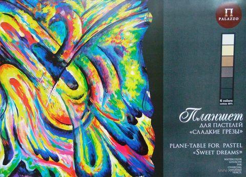 """Планшет для пастели """"Сладкие грезы"""" (А2; 18 листов; 6 цветов) — фото, картинка"""