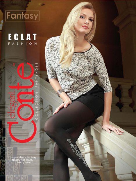 """Колготки женские фантазийные """"Conte. Eclat"""" (арт. 1012810034)"""