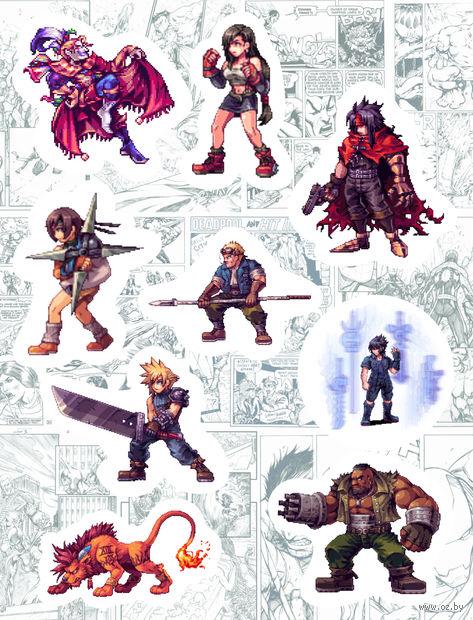 """Набор виниловых наклеек №168 """"Final Fantasy"""" — фото, картинка"""
