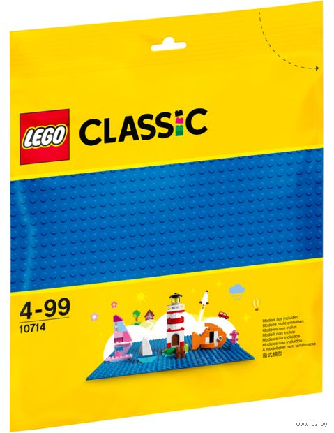 """LEGO Classic """"Синяя строительная пластина"""" — фото, картинка"""
