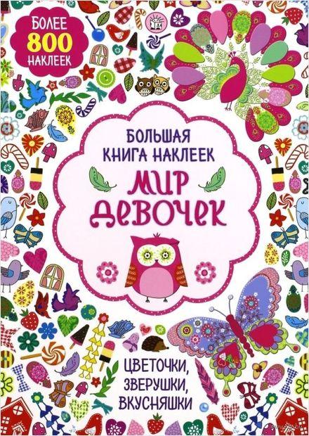 Мир девочек. Большая книга наклеек — фото, картинка