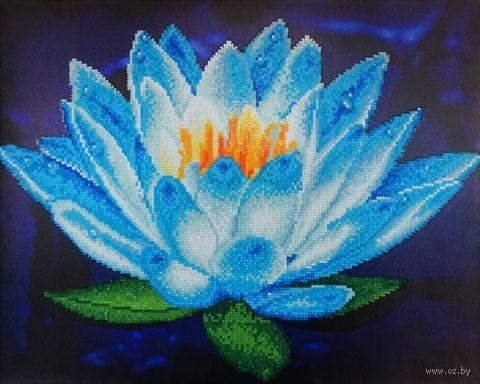 "Алмазная вышивка-мозаика ""Символ чистоты"" (400х500 мм) — фото, картинка"