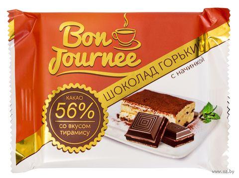 """Шоколад горький """"Bon Journee. С начинкой со вкусом тирамису"""" (80 г) — фото, картинка"""