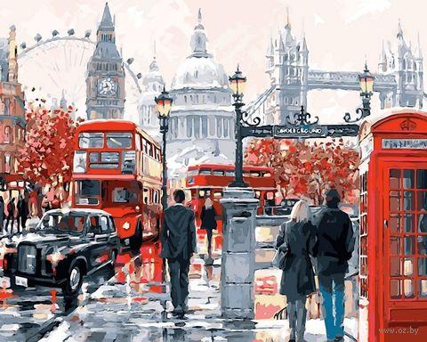 """Картина по номерам """"Лондон"""" (400х500 мм) — фото, картинка"""
