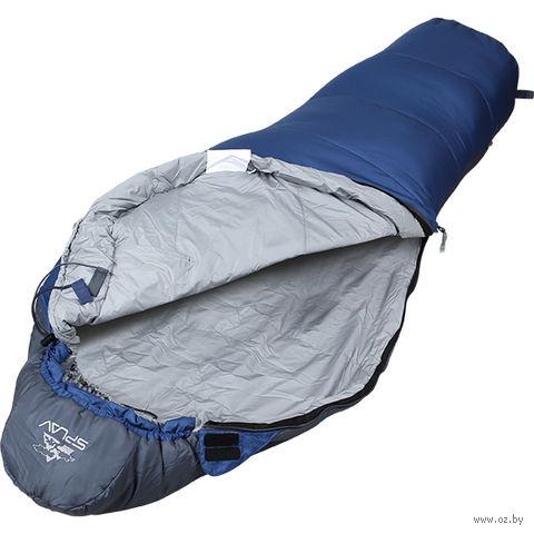 """Спальный мешок одноместный """"Expedition Junior 150"""" (синий)"""