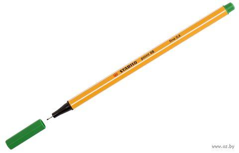 """Ручка капиллярная """"Point 88"""" (зеленая; 0,4 мм)"""