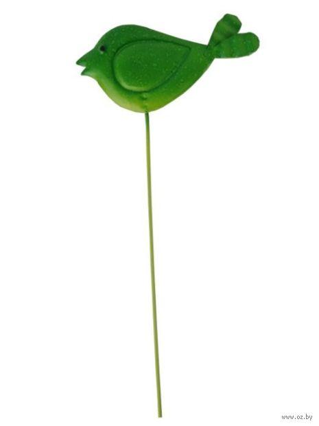 """Украшение садовое """"Птичка зеленая"""" — фото, картинка"""