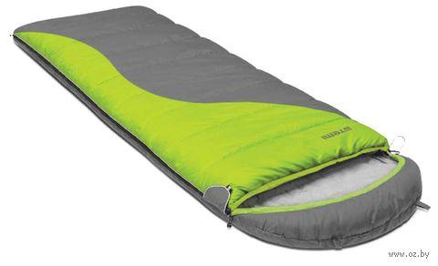 Спальный мешок (правый; серо-зелёный; арт. Quilt 350R) — фото, картинка