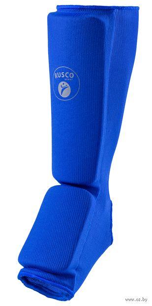Защита голень-стопа (L; синяя) — фото, картинка