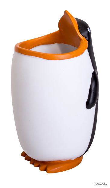 """Подставка для канцелярских принадлежностей """"Пингвин"""" — фото, картинка"""