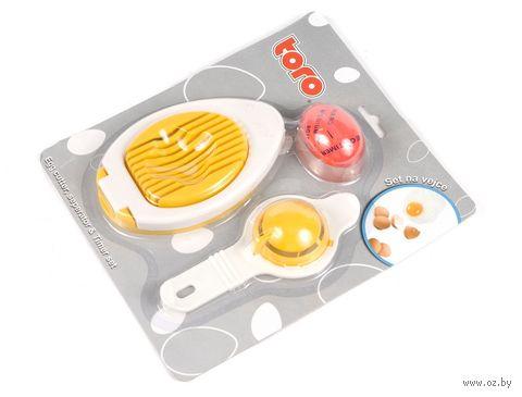 Набор кухонный пластмассовый (3 предмета, арт. 263570)