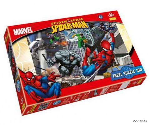 """Пазл """"Человек-паук. Нападение"""" (100 элементов) — фото, картинка"""
