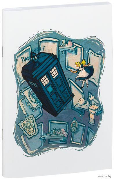 """Блокнот """"Доктор Кто. Тардис и Алиса"""" (А5; арт. 012) — фото, картинка"""