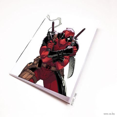 """Блокнот """"Дэдпул"""" (А5; арт. 680) — фото, картинка"""