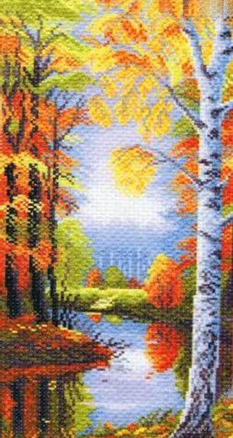 """Вышивка крестом """"Осеннее утро"""""""