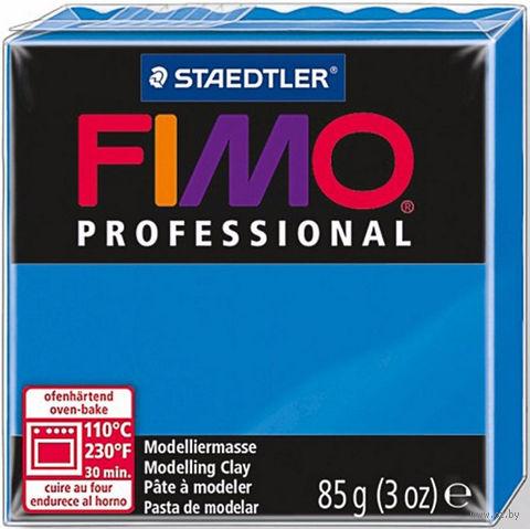 "Глина полимерная ""FIMO Professional"" (синий; 85 г) — фото, картинка"