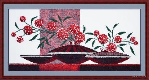 "Набор для вышивания ""Композиция с вазами"" (400х200 мм; арт. 604В) — фото, картинка"
