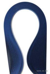 Бумага для квиллинга (300х3 мм; темно-синий; 100 шт)