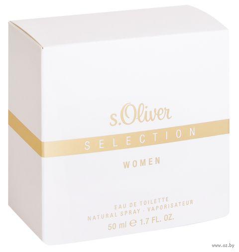"""Туалетная вода для женщин """"Selection by s.Oliver Women"""" (50 мл)"""