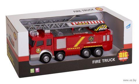 Пожарная машина (со звуковыми и световыми эффектами; арт. SY732) — фото, картинка