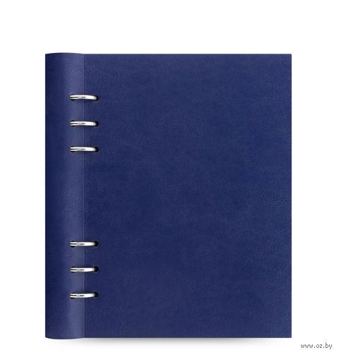 "Записная книжка Filofax ""Clipbook Classic"" (A5; navy)"