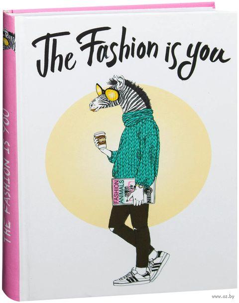 """Блокнот """"The fashion is you (Блокнот для хипстеров)"""" (А5) — фото, картинка"""