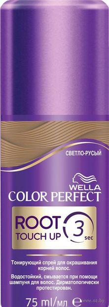 """Тонирующий спрей для волос """"Color Perfect"""" тон: светло-русый — фото, картинка"""