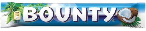 "Батончик шоколадный ""Bounty"" (55 г) — фото, картинка"