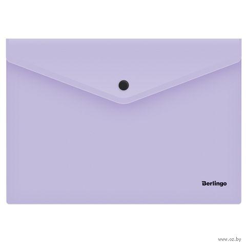 """Папка-конверт """"Instinct"""" (А4; лавандовая) — фото, картинка"""
