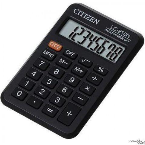 Калькулятор карманный LC-210N (8 разрядов)