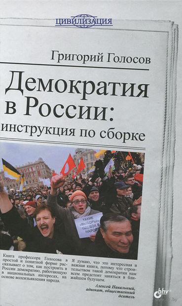 Демократия в России. Инструкция по сборке. Григорий Голосов