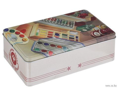 """Коробка для хранения """"Краски"""" (20х13х6,5 см)"""