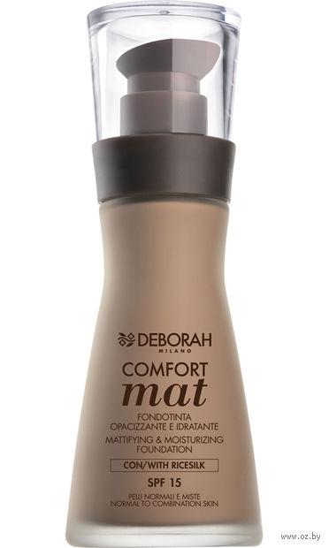 """Тональный крем для лица """"Comfort Mat Foundation"""" SPF 15 (тон: 02) — фото, картинка"""