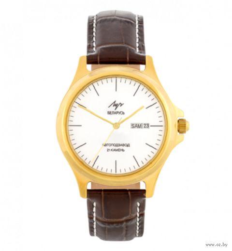 """Часы наручные """"Эго"""" (коричневые; арт. 435938225) — фото, картинка"""