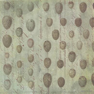 "Бумага для скрапбукинга ""Флора и фауна. Яйца"" (310х310 мм; 25 листов)"