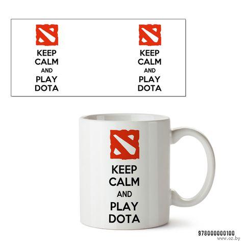 """Кружка """"Дота 2. Keep Calm and Play Dota"""" — фото, картинка"""