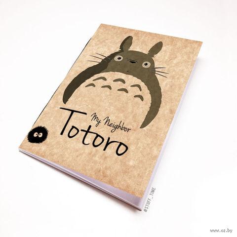 """Блокнот крафт """"Тоторо"""" (А7; арт. 118) — фото, картинка"""