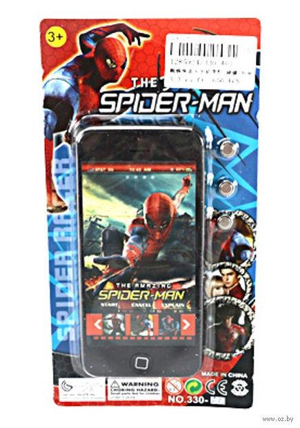 """Музыкальная игрушка """"Телефон. Человек-паук"""" (со световым эффектом; арт. 330-A01)"""
