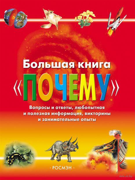 """Большая книга """"почему"""". Вопросы и ответы, любопытная и полезная информация, викторины и занимательные опыты"""