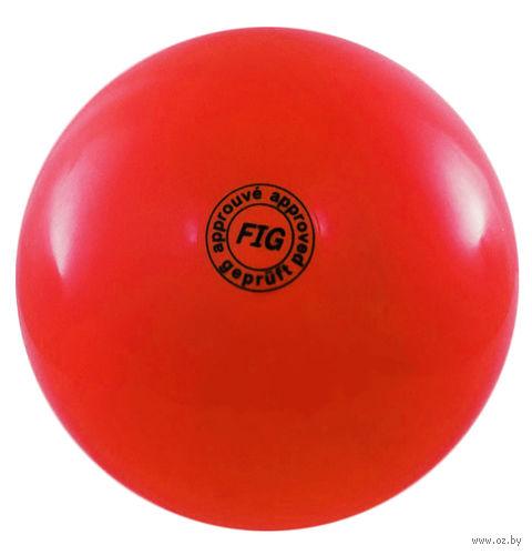 Мяч для художественной гимнастики АВ2801 (красный) — фото, картинка