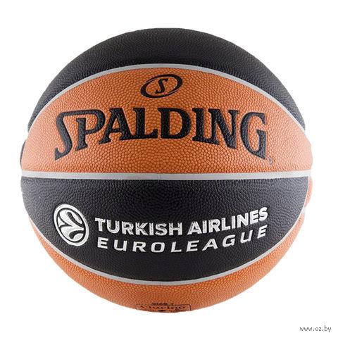 Мяч баскетбольный Spalding Euroleague Offical TF-1000 №7 — фото, картинка