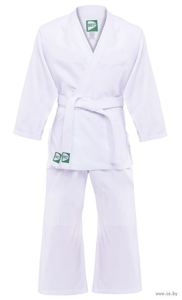 Кимоно для дзюдо MA-302 (р. 0/130; белое) — фото, картинка