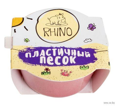 """Кинетический песок """"Rhino"""" (красный; 100 г) — фото, картинка"""