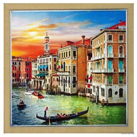 "Алмазная вышивка-мозаика ""Венеция"" (500х500 мм; арт. 7707869) — фото, картинка"