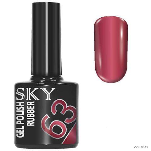 """Гель-лак для ногтей """"Sky"""" тон: 63 — фото, картинка"""