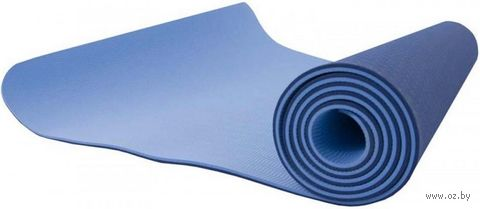 Коврик для йоги (180х80х0,6 см; арт. TPE-8006) — фото, картинка