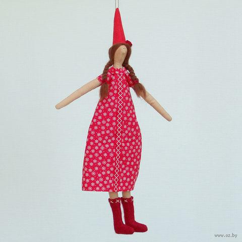 """Кукла ручной работы """"Эльф"""" (девушка)"""